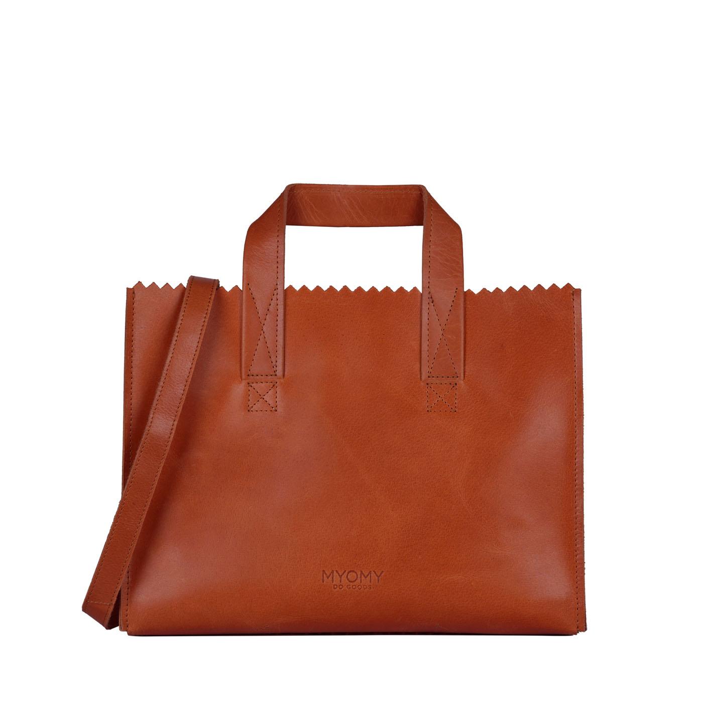 MY PAPER BAG Handbag cross-body - hunter waxy ginger