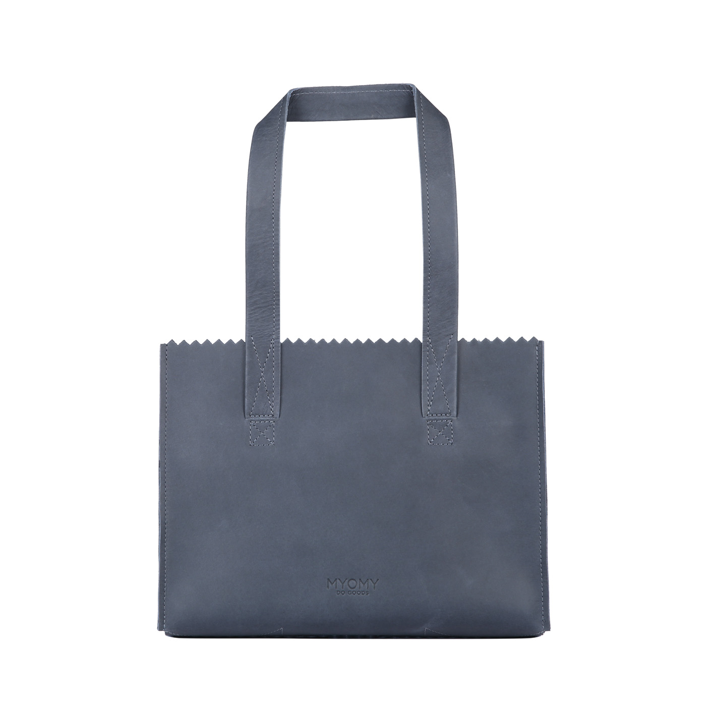 MY PAPER BAG Handbag – hunter navy blue