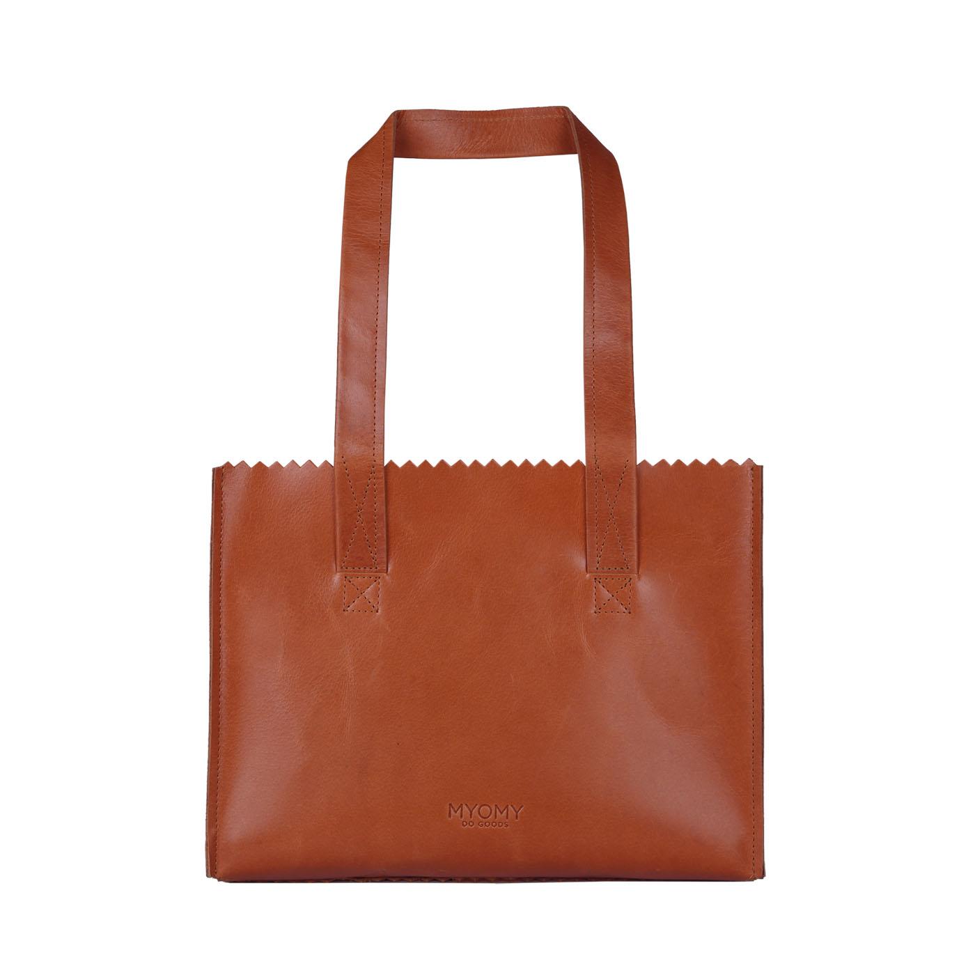MY PAPER BAG Handbag – hunter waxy ginger