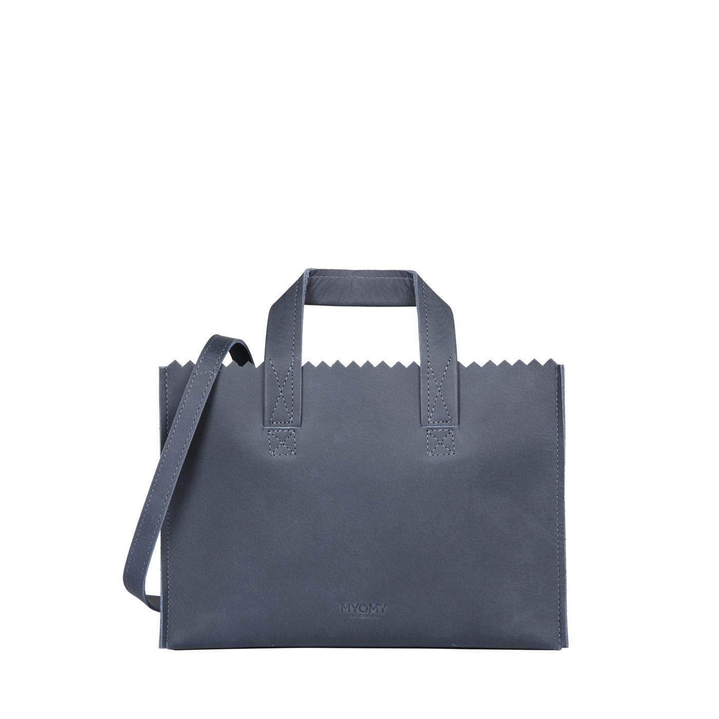 MY PAPER BAG Mini handbag cross-body - hunter navy blue