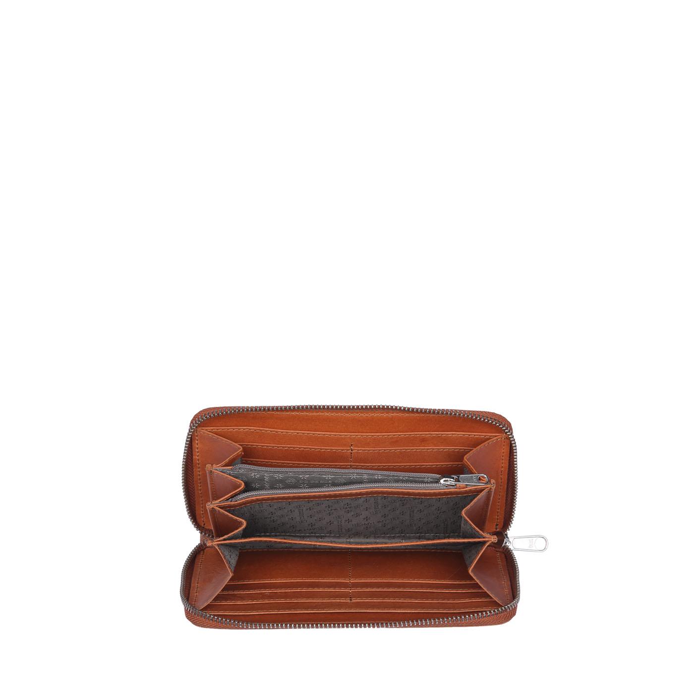 61f7344f296 MY PAPER BAG Wallet - hunter waxy ginger - MYOMY