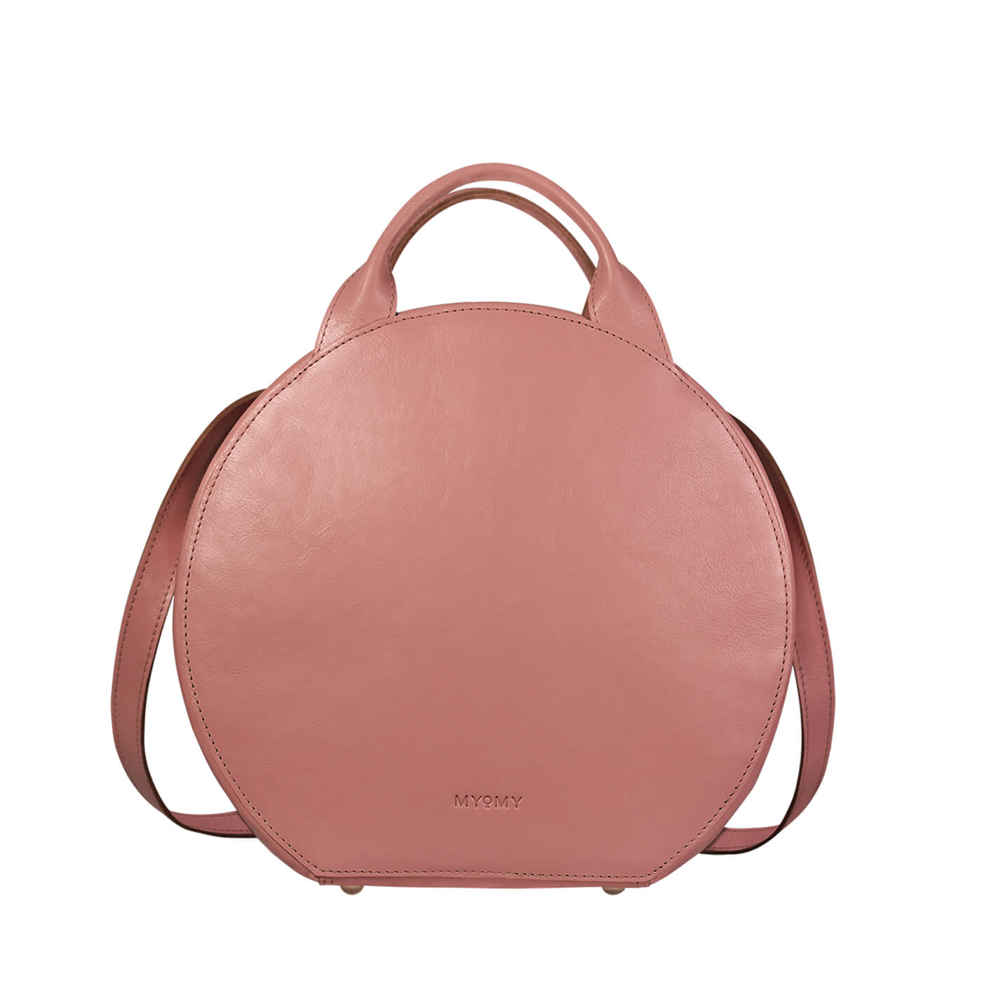 MY BOXY BAG Cookie backbag - hunter waxy pink
