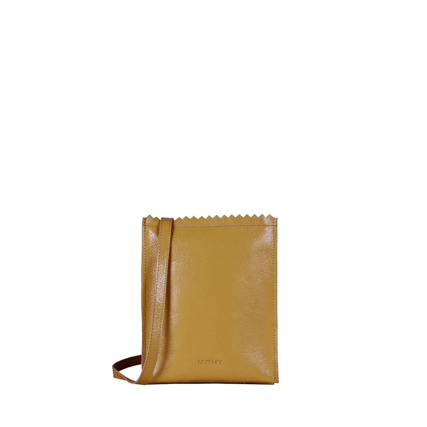 MY PAPER BAG Baggy medium - seville ocher