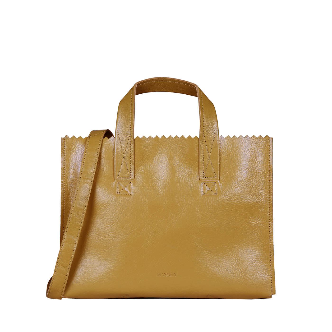 MY PAPER BAG Handbag cross-body - seville ocher