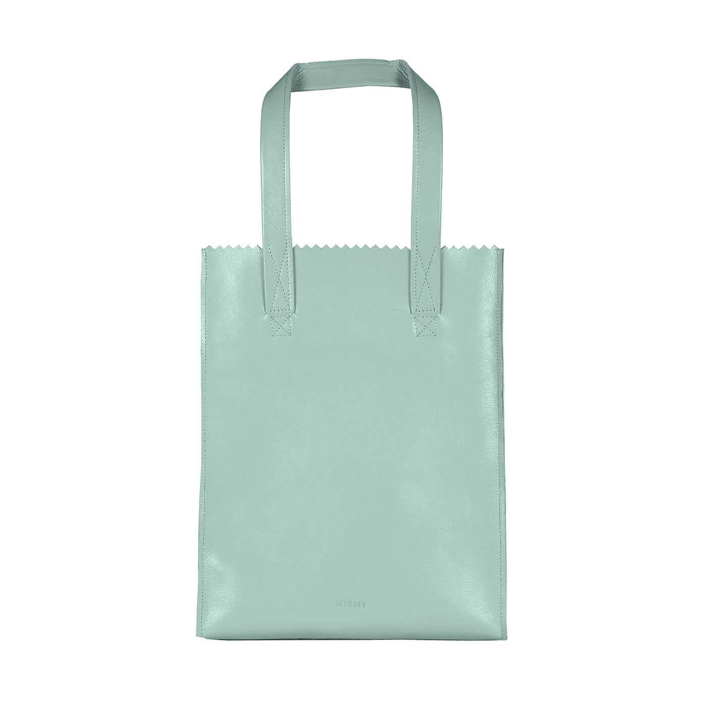 MY PAPER BAG Long handle zip - seville mint