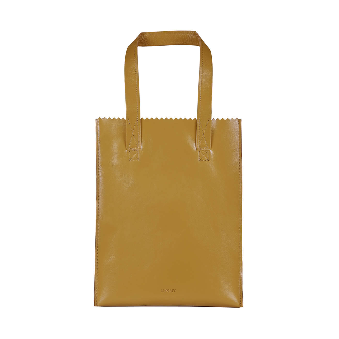 MY PAPER BAG Long handle zip - seville ocher