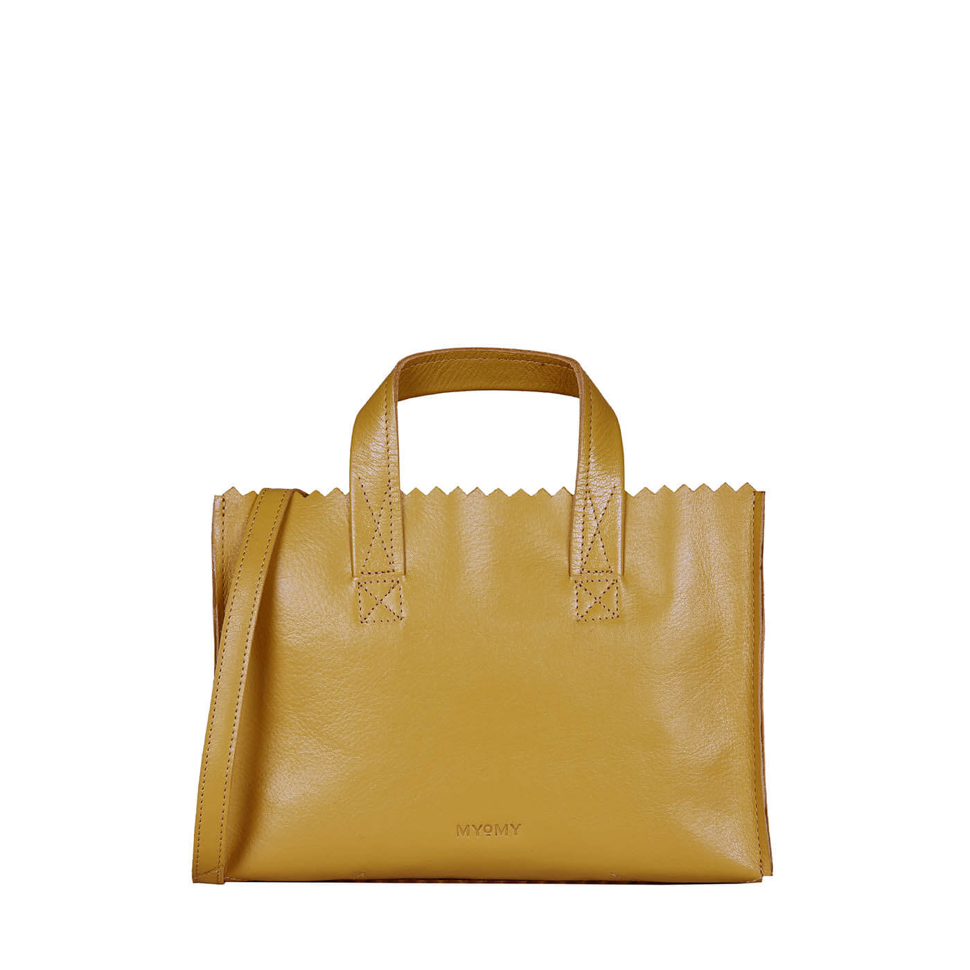 MY PAPER BAG Mini handbag cross-body - seville ocher