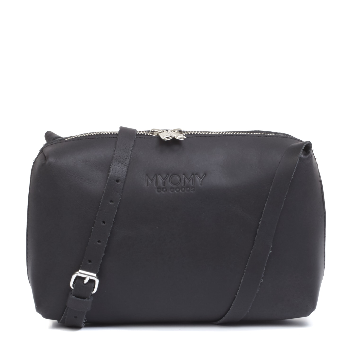 MY BLACK BAG Handbag – hunter waxy black