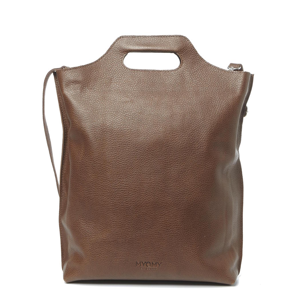 MY CARRY BAG Shopper – rambler brandy