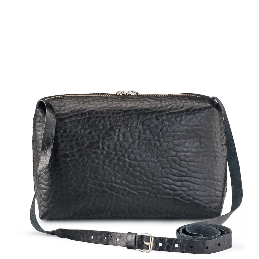 MY BLACK BAG Handbag – bubble black