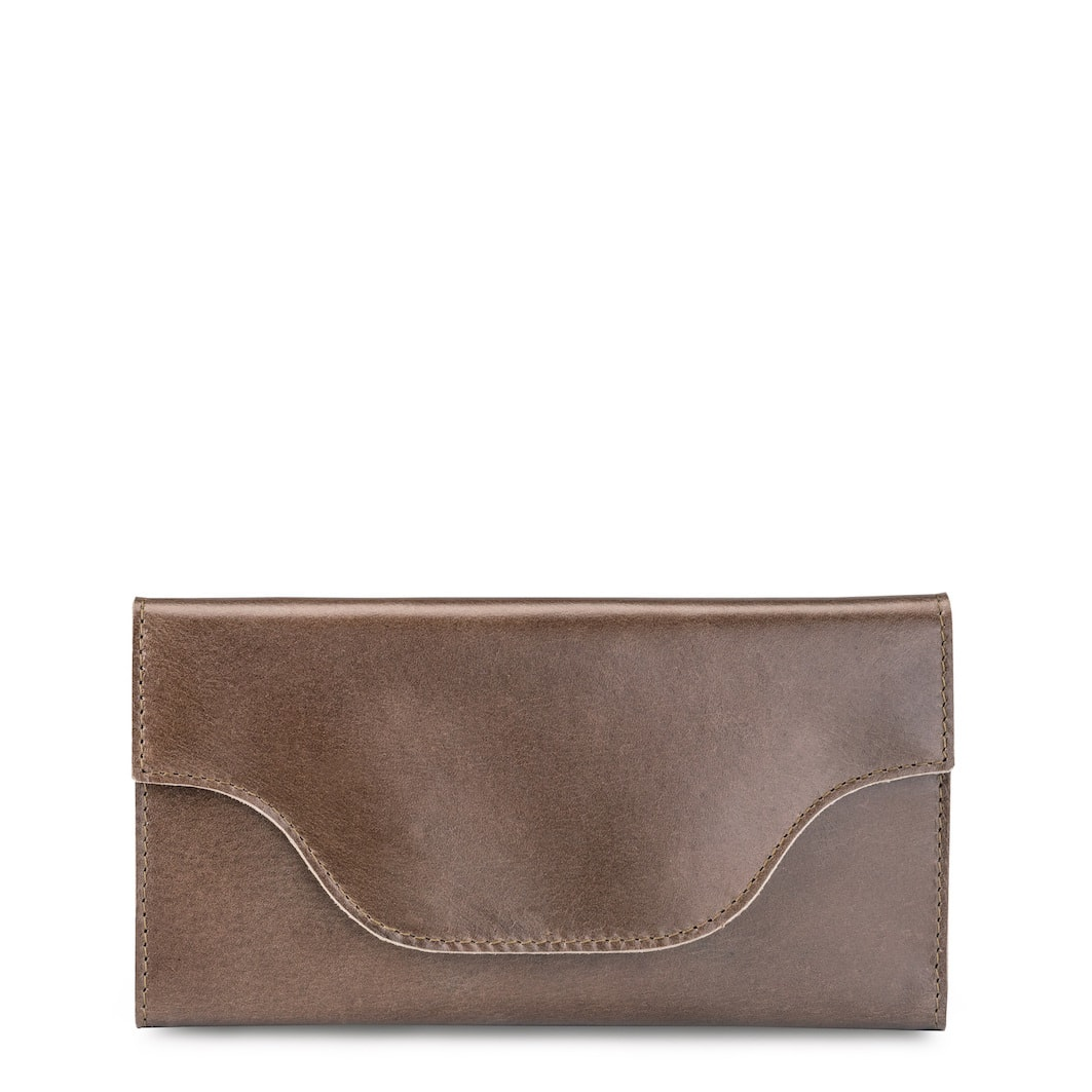 MY CARRY BAG Wallet – hunter waxy taupe
