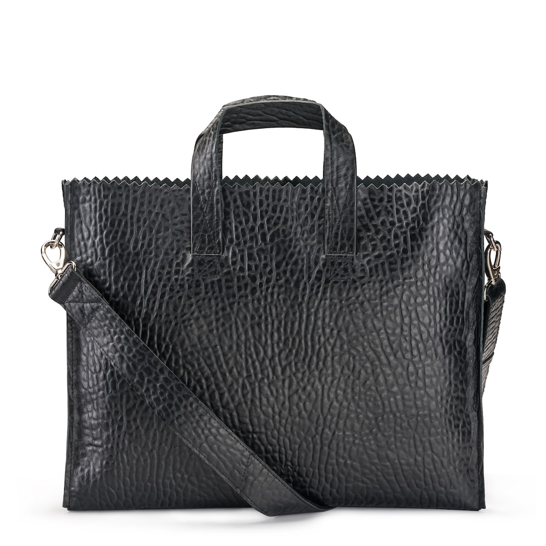 MY PAPER BAG Business Bag - bubble black