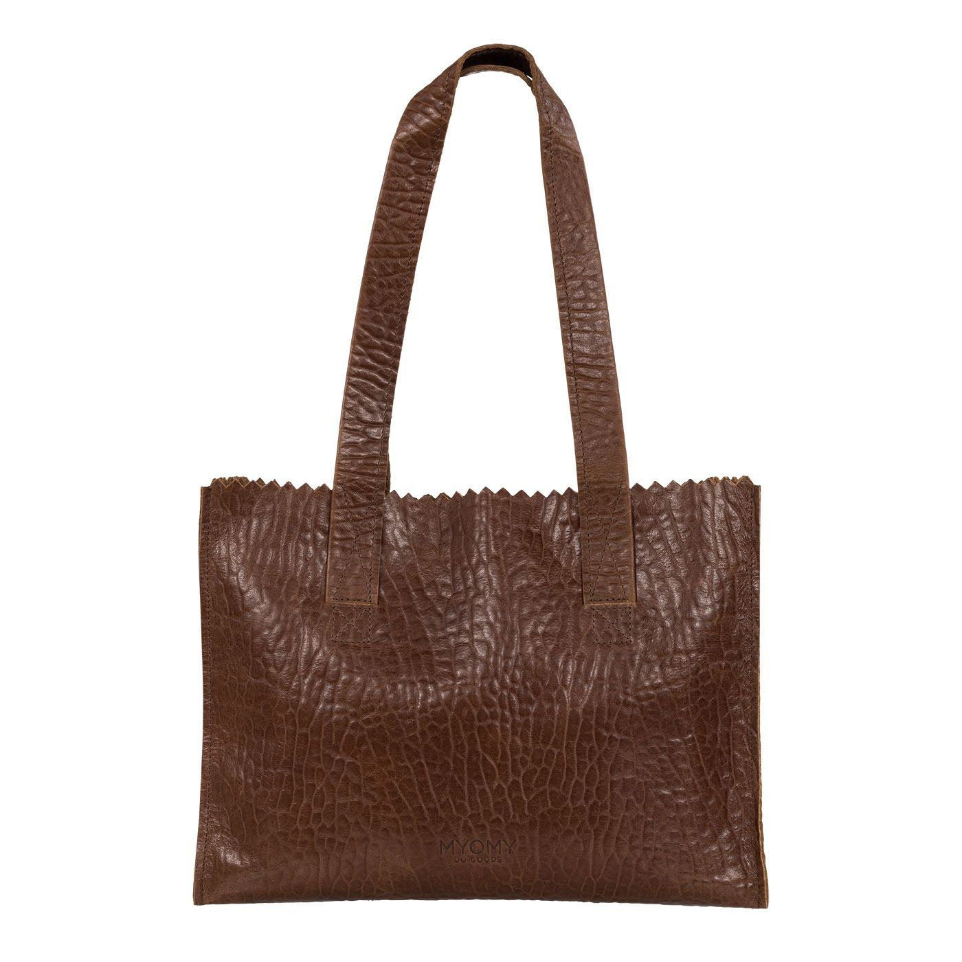 MY PAPER BAG Handbag – bubble brandy