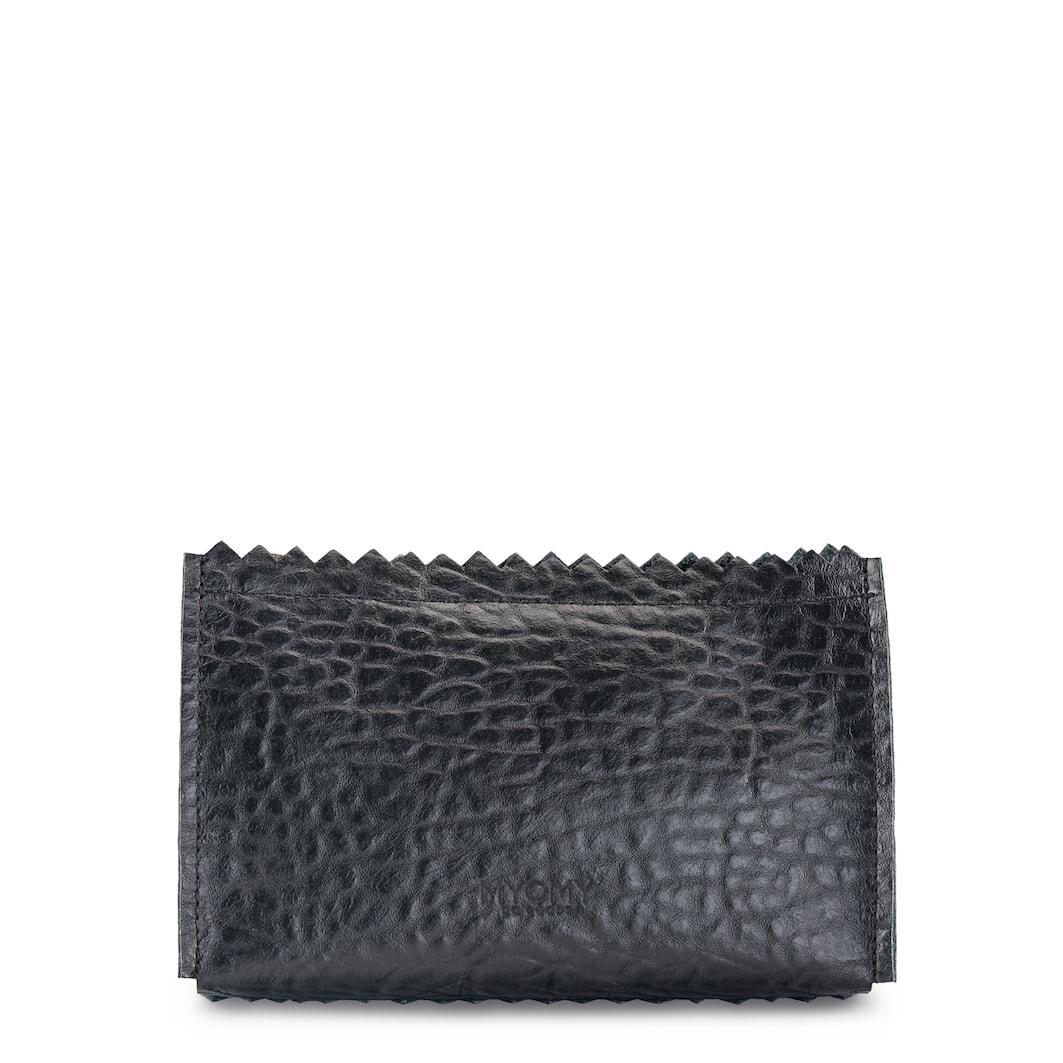 MY PAPER BAG Make-up bag – bubble black