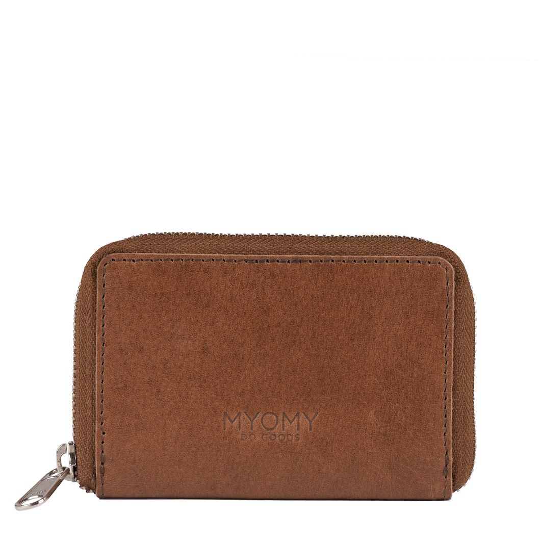 MYOMY Wallet S – hunter waxy cognac