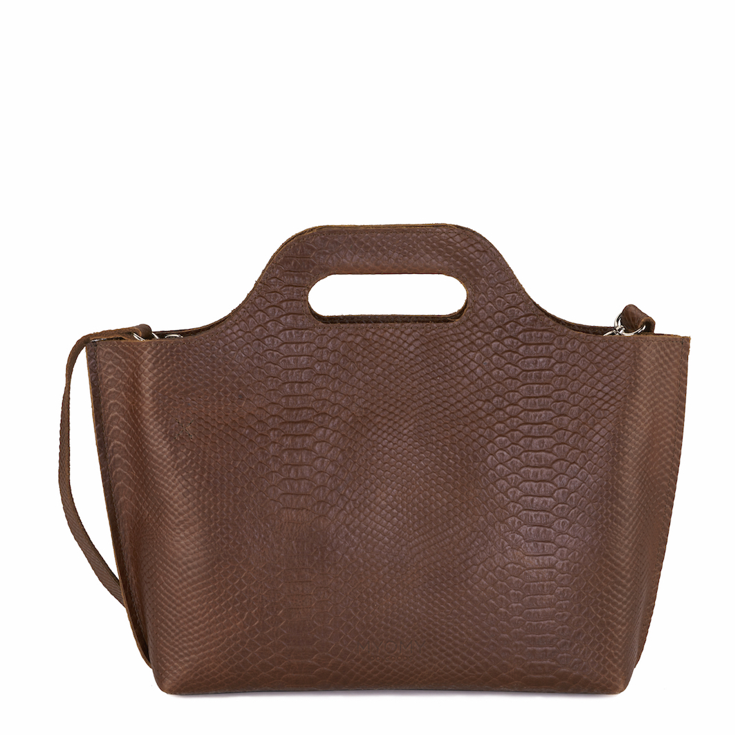 MY CARRY BAG Handbag - anaconda brandy
