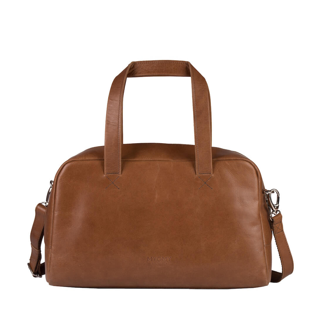 MY GYM BAG Club – hunter waxy cognac