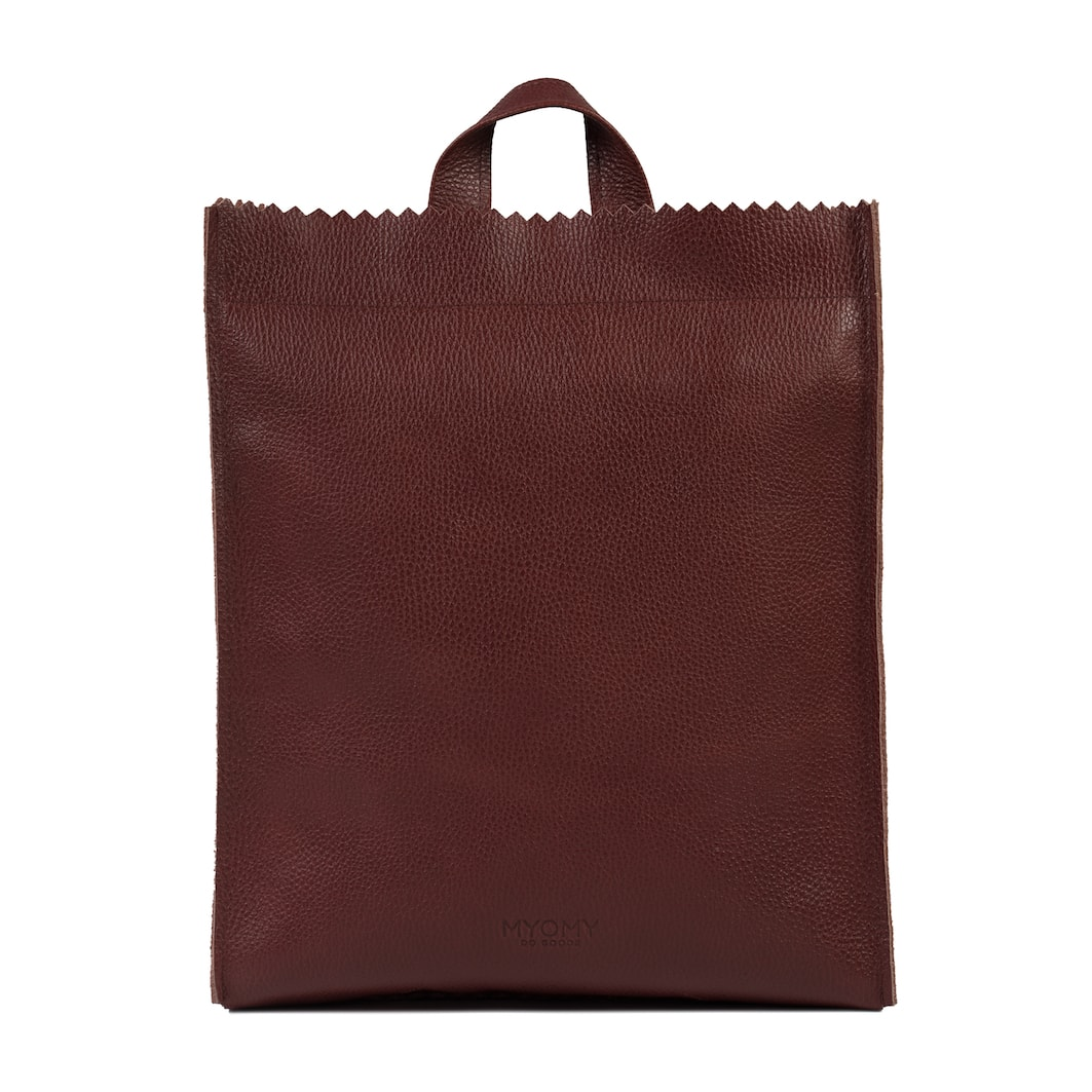 MY PAPER BAG Back bag – rambler bordeaux