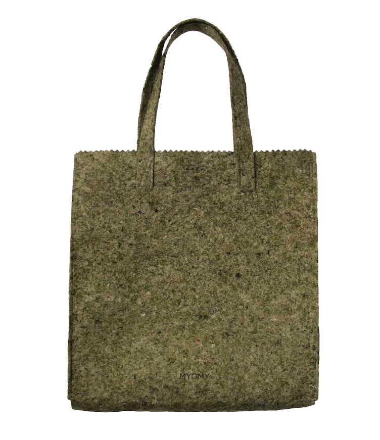 MY PAPER BAG XL - felt army peace