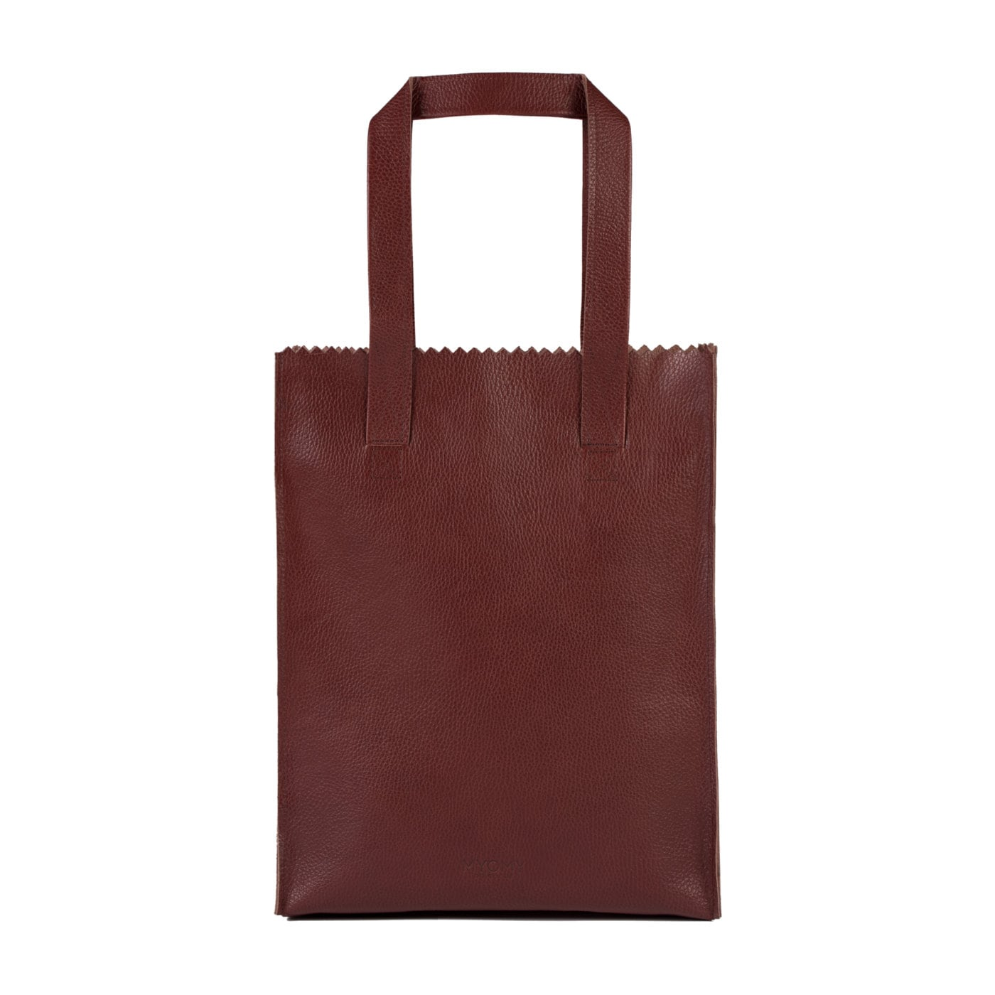 MY PAPER BAG Long handle zip – rambler bordeaux