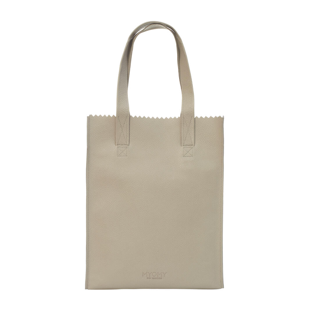 MY PAPER BAG Long handle zip – rambler grey