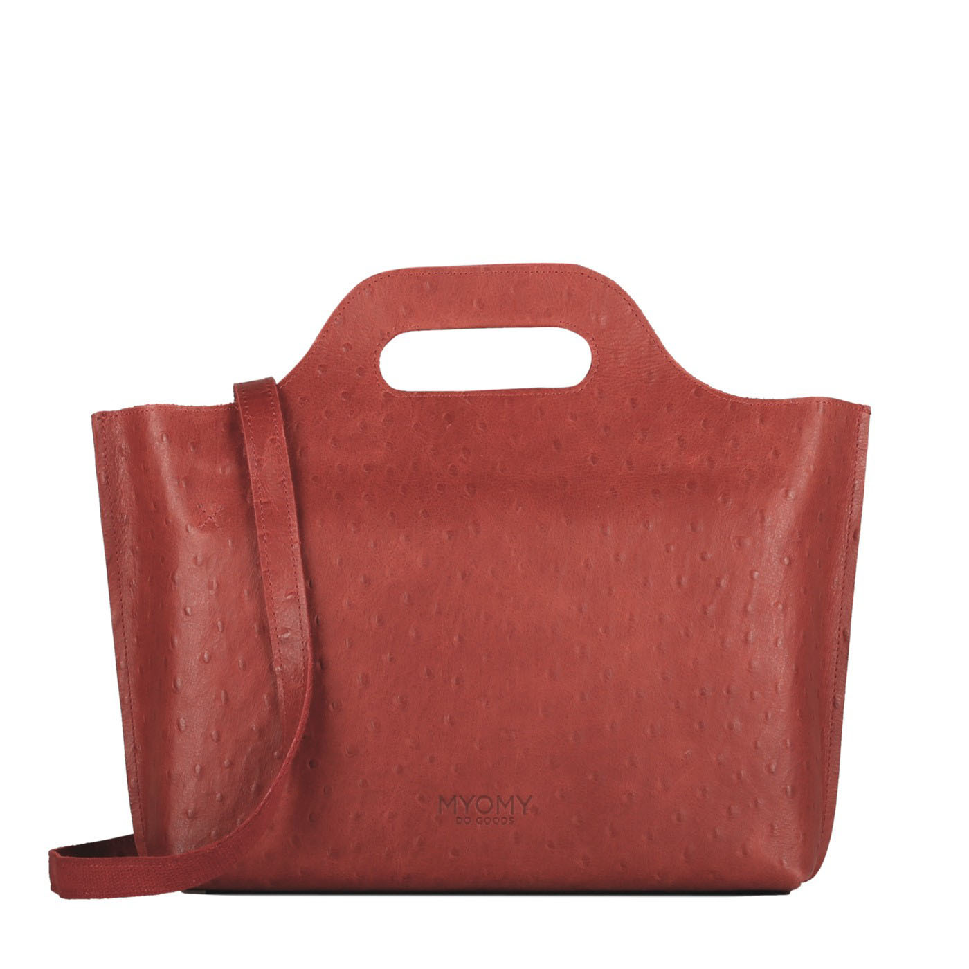 MY CARRY BAG Handbag – ostrich red
