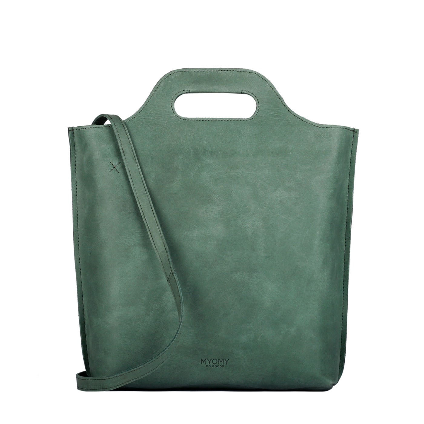 MY CARRY BAG shopper medium - hunter forest green