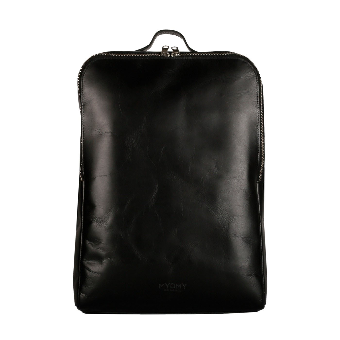 MY GYM BAG Back Bag laptop - hunter waxy black
