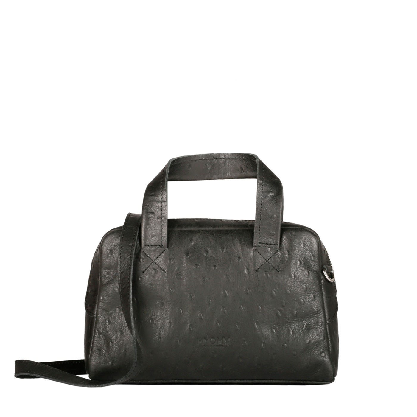 MY GYM BAG Mini - ostrich black - MYOMY