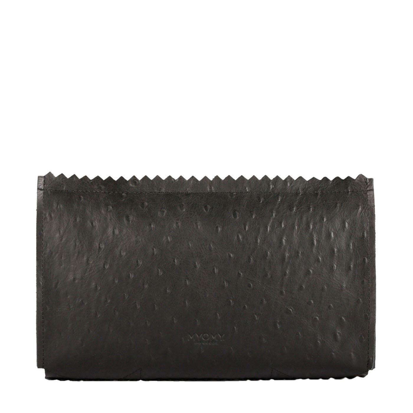 MY PAPER BAG Care bag – ostrich black