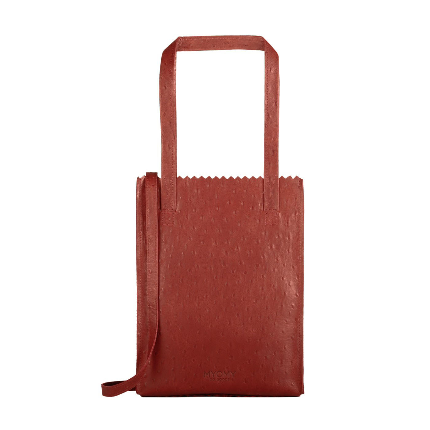 MY PAPER BAG Handy - ostrich red