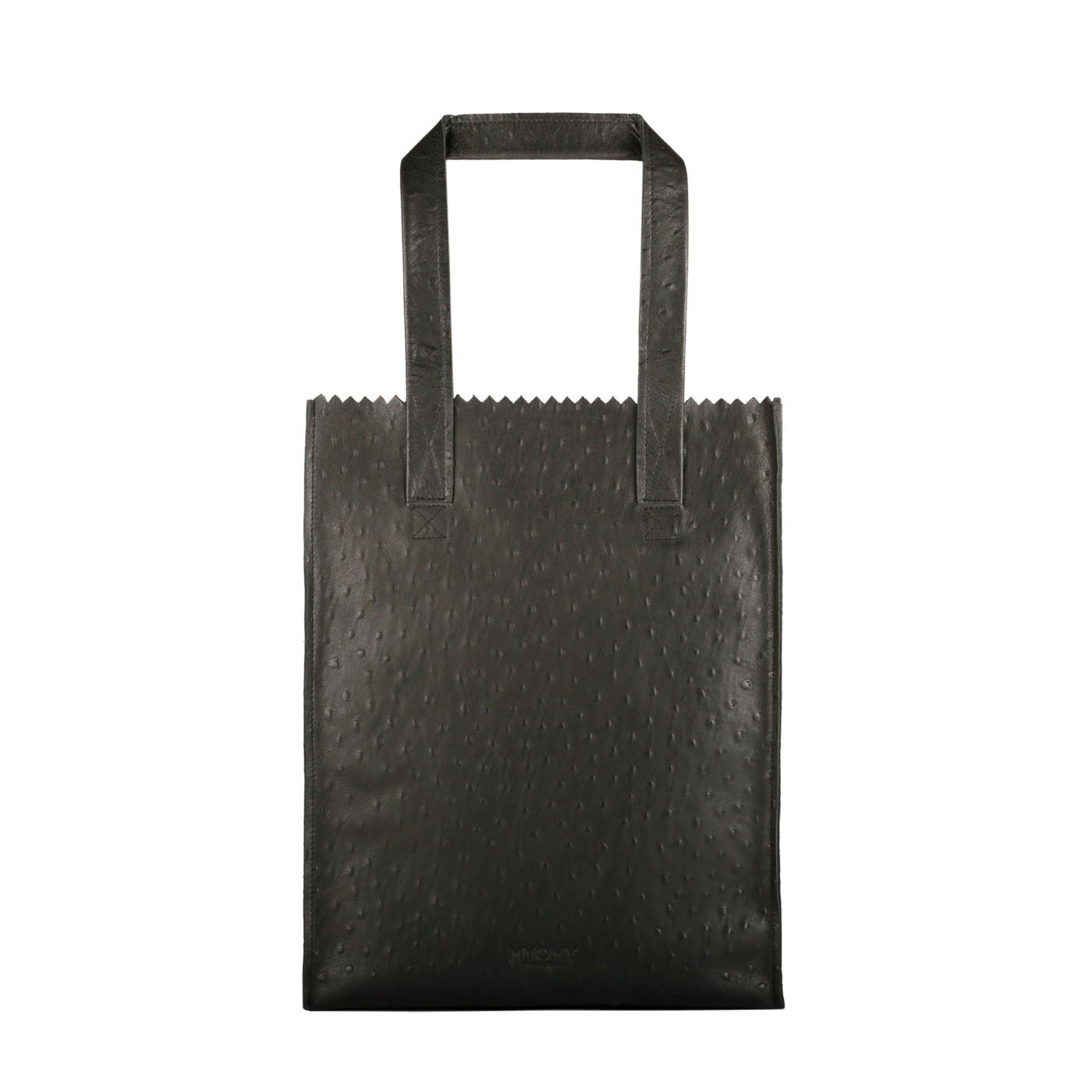 MY PAPER BAG Long handle zip – ostrich black