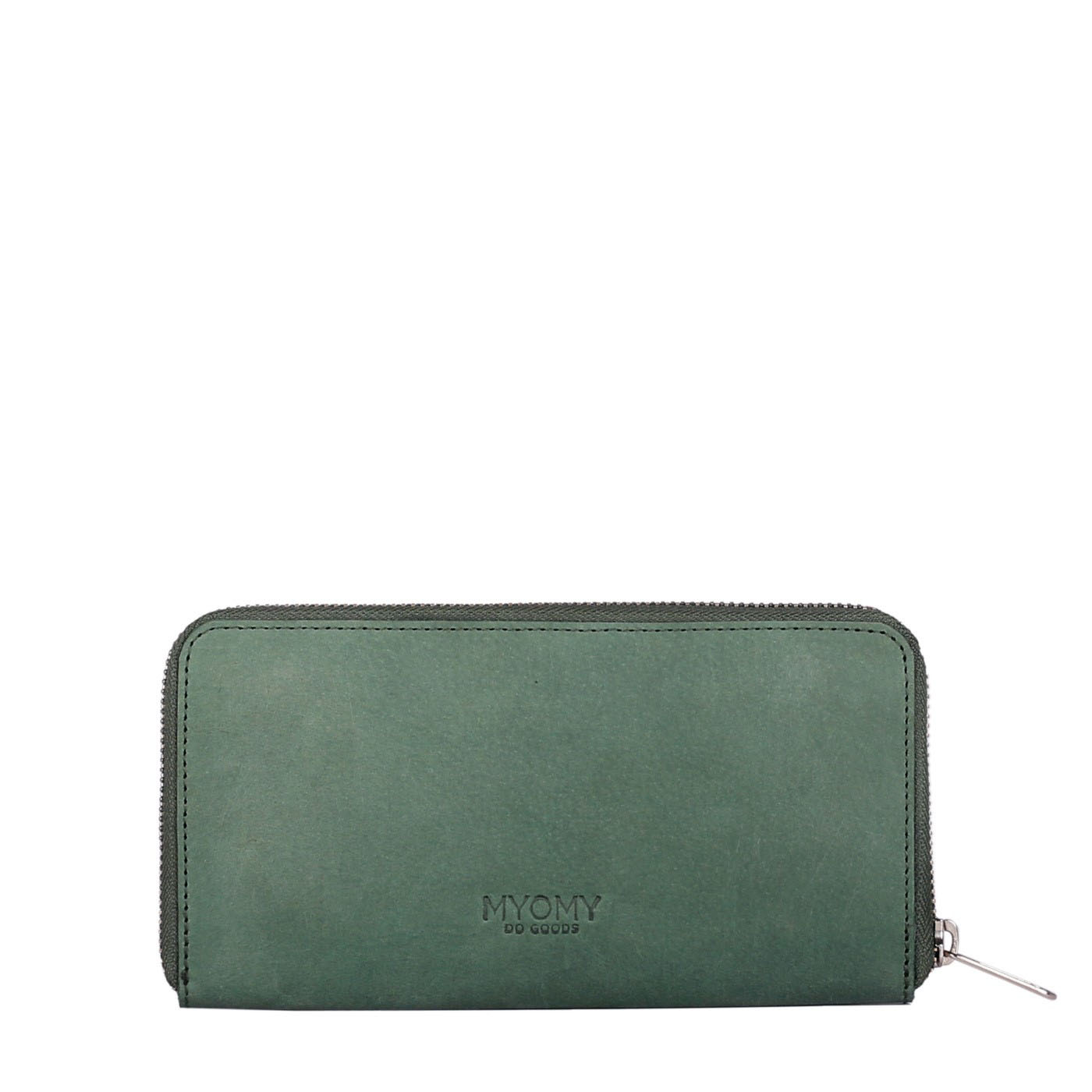 MY PAPER BAG Wallet - hunter forest green