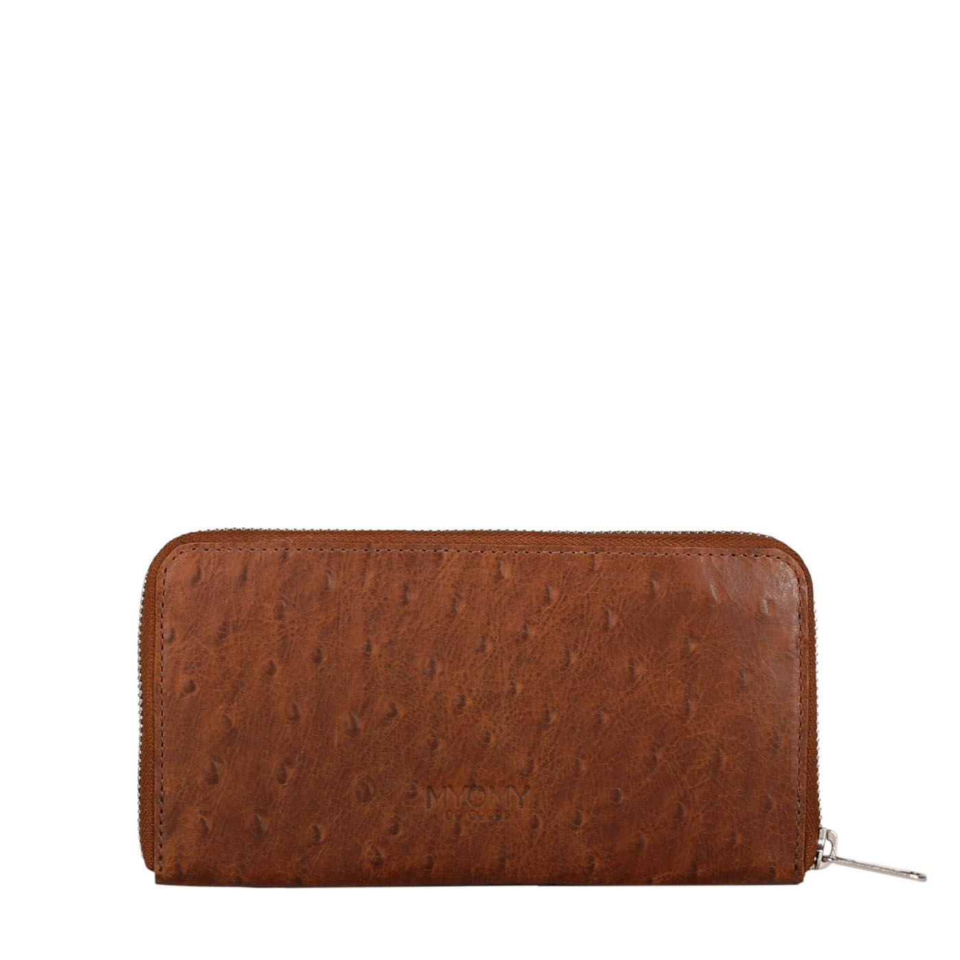 MY PAPER BAG Wallet - ostrich brandy
